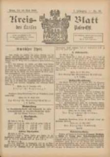 Kreis-Blatt des Kreises Posen-Ost 1895.05.18 Jg.8 Nr20