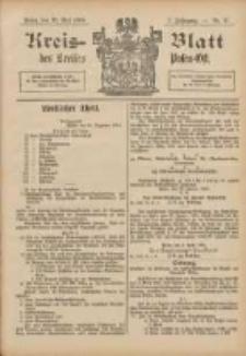 Kreis-Blatt des Kreises Posen-Ost 1895.05.25 Jg.8 Nr21