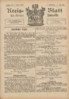 Kreis-Blatt des Kreises Posen-Ost 1895.06.01 Jg.8 Nr22