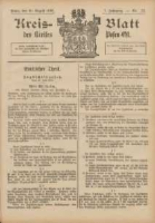 Kreis-Blatt des Kreises Posen-Ost 1895.08.10 Jg.8 Nr32