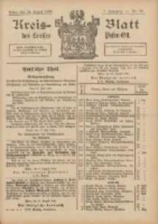 Kreis-Blatt des Kreises Posen-Ost 1895.08.24 Jg.8 Nr34