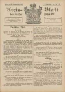 Kreis-Blatt des Kreises Posen-Ost 1895.09.14 Jg.8 Nr37