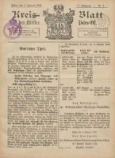 Kreis-Blatt des Kreises Posen-Ost 1896.01.04 Jg.9 Nr1