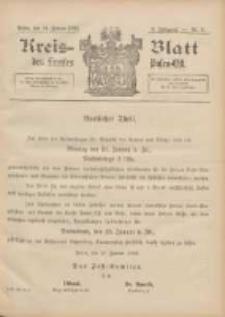 Kreis-Blatt des Kreises Posen-Ost 1896.01.18 Jg.9 Nr3