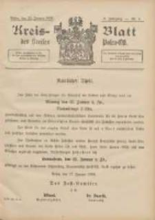 Kreis-Blatt des Kreises Posen-Ost 1896.01.22 Jg.9 Nr4