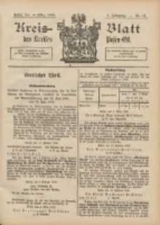 Kreis-Blatt des Kreises Posen-Ost 1896.03.14 Jg.9 Nr11