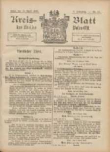 Kreis-Blatt des Kreises Posen-Ost 1896.04.11 Jg.9 Nr15