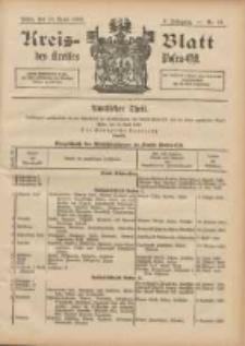 Kreis-Blatt des Kreises Posen-Ost 1896.04.18 Jg.9 Nr16