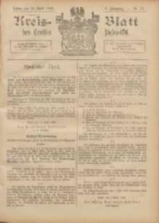 Kreis-Blatt des Kreises Posen-Ost 1896.04.25 Jg.9 Nr17