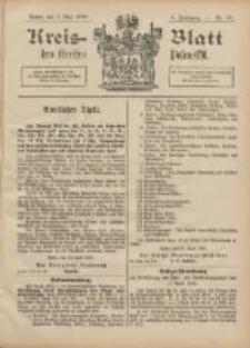 Kreis-Blatt des Kreises Posen-Ost 1896.05.02 Jg.9 Nr18