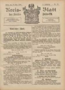 Kreis-Blatt des Kreises Posen-Ost 1896.05.16 Jg.9 Nr20