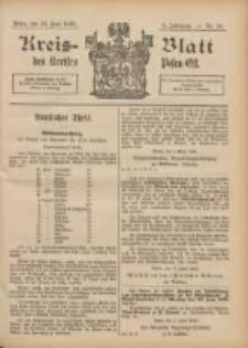 Kreis-Blatt des Kreises Posen-Ost 1896.06.13 Jg.9 Nr24