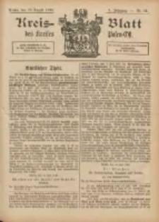 Kreis-Blatt des Kreises Posen-Ost 1896.08.22 Jg.9 Nr34