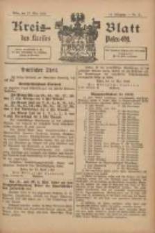 Kreis-Blatt des Kreises Posen-Ost 1902.05.17 Jg.14 Nr20