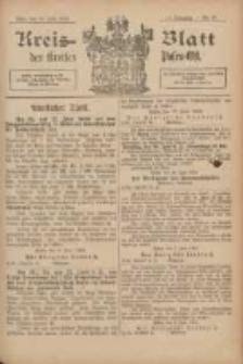 Kreis-Blatt des Kreises Posen-Ost 1902.06.14 Jg.14 Nr24