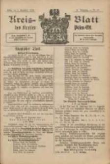 Kreis-Blatt des Kreises Posen-Ost 1902.11.08 Jg.14 Nr47