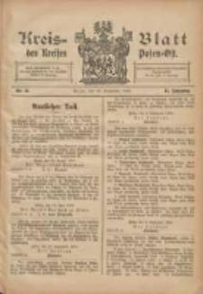 Kreis-Blatt des Kreises Posen-Ost 1903.09.12 Jg.15 Nr38