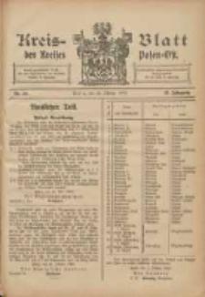 Kreis-Blatt des Kreises Posen-Ost 1903.10.23 Jg.15 Nr44