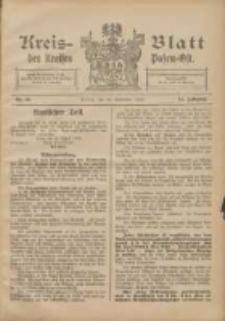 Kreis-Blatt des Kreises Posen-Ost 1904.09.10 Jg.16 Nr40