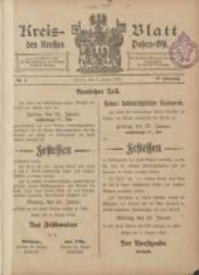 Kreis-Blatt des Kreises Posen-Ost 1905.01.07 Jg.17 Nr1