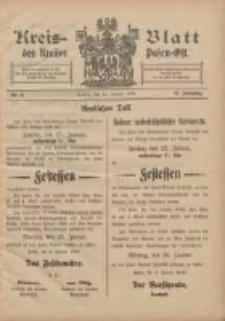Kreis-Blatt des Kreises Posen-Ost 1905.01.18 Jg.17 Nr3