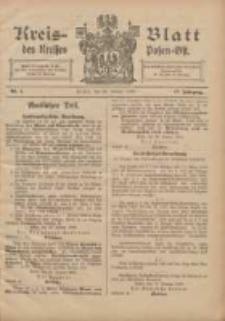 Kreis-Blatt des Kreises Posen-Ost 1905.01.28 Jg.17 Nr4