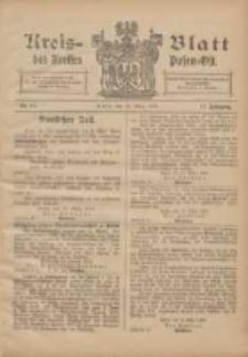 Kreis-Blatt des Kreises Posen-Ost 1905.03.18 Jg.17 Nr11