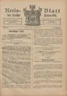 Kreis-Blatt des Kreises Posen-Ost 1905.04.01 Jg.17 Nr13