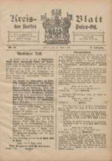 Kreis-Blatt des Kreises Posen-Ost 1905.04.15 Jg.17 Nr15