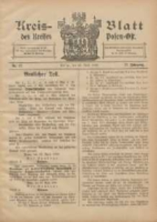 Kreis-Blatt des Kreises Posen-Ost 1905.04.29 Jg.17 Nr17