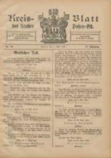 Kreis-Blatt des Kreises Posen-Ost 1905.05.06 Jg.17 Nr18