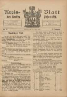 Kreis-Blatt des Kreises Posen-Ost 1905.05.27 Jg.17 Nr21