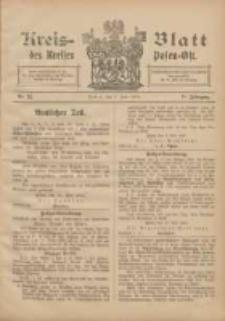 Kreis-Blatt des Kreises Posen-Ost 1905.06.03 Jg.17 Nr22