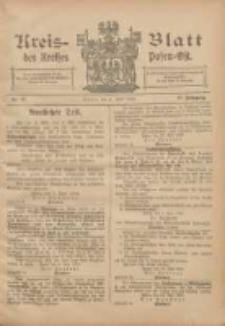 Kreis-Blatt des Kreises Posen-Ost 1905.06.06 Jg.17 Nr23
