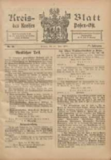 Kreis-Blatt des Kreises Posen-Ost 1905.06.14 Jg.17 Nr24