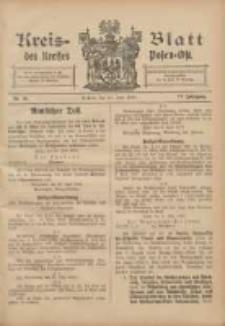 Kreis-Blatt des Kreises Posen-Ost 1905.06.24 Jg.17 Nr25
