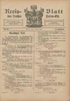 Kreis-Blatt des Kreises Posen-Ost 1905.07.01 Jg.17 Nr26