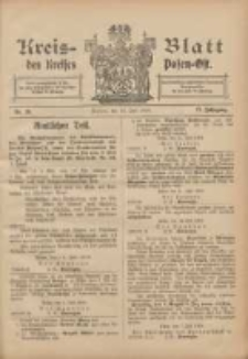 Kreis-Blatt des Kreises Posen-Ost 1905.07.15 Jg.17 Nr28