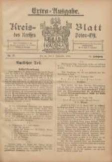 Kreis-Blatt des Kreises Posen-Ost 1905.09.09 Jg.17 Nr37