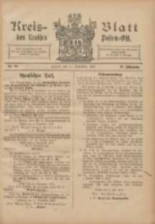 Kreis-Blatt des Kreises Posen-Ost 1905.09.14 Jg.17 Nr38