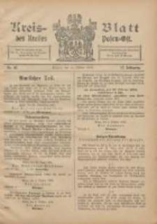 Kreis-Blatt des Kreises Posen-Ost 1905.10.14 Jg.17 Nr42