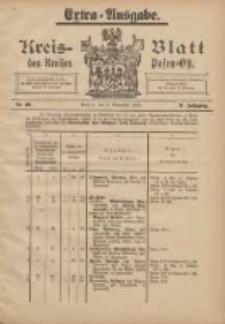 Kreis-Blatt des Kreises Posen-Ost 1905.11.06 Jg.17 Nr46