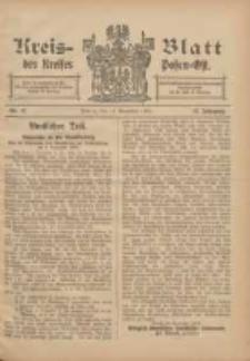 Kreis-Blatt des Kreises Posen-Ost 1905.11.11 Jg.17 Nr47