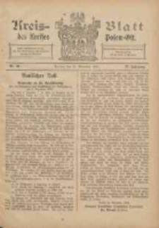 Kreis-Blatt des Kreises Posen-Ost 1905.11.18 Jg.17 Nr48