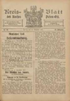 Kreis-Blatt des Kreises Posen-Ost 1905.11.25 Jg.17 Nr49