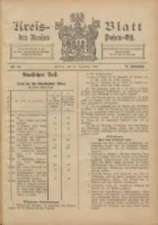 Kreis-Blatt des Kreises Posen-Ost 1905.12.30 Jg.17 Nr54