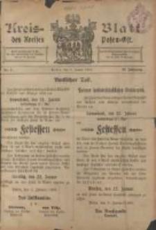 Kreis-Blatt des Kreises Posen-Ost 1906.01.06 Jg.18 Nr1