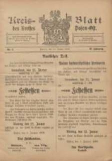 Kreis-Blatt des Kreises Posen-Ost 1906.01.13 Jg.18 Nr2