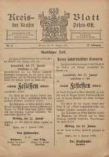 Kreis-Blatt des Kreises Posen-Ost 1906.01.20 Jg.18 Nr3