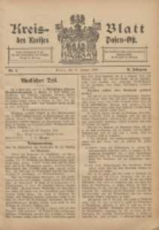 Kreis-Blatt des Kreises Posen-Ost 1906.01.27 Jg.18 Nr4